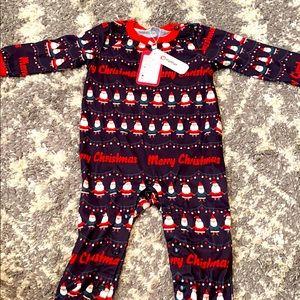 Pat pat Christmas baby pajamas size 12-18!